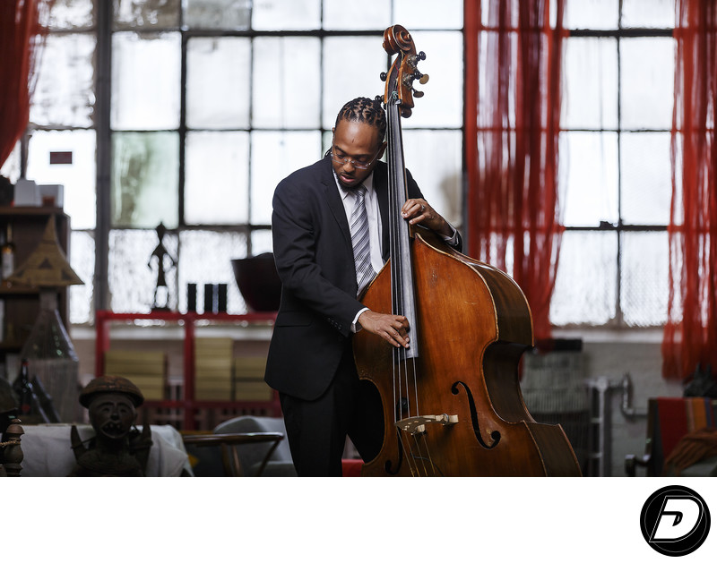 Corcoran Holt Jazz Bass Player The Mecca CD