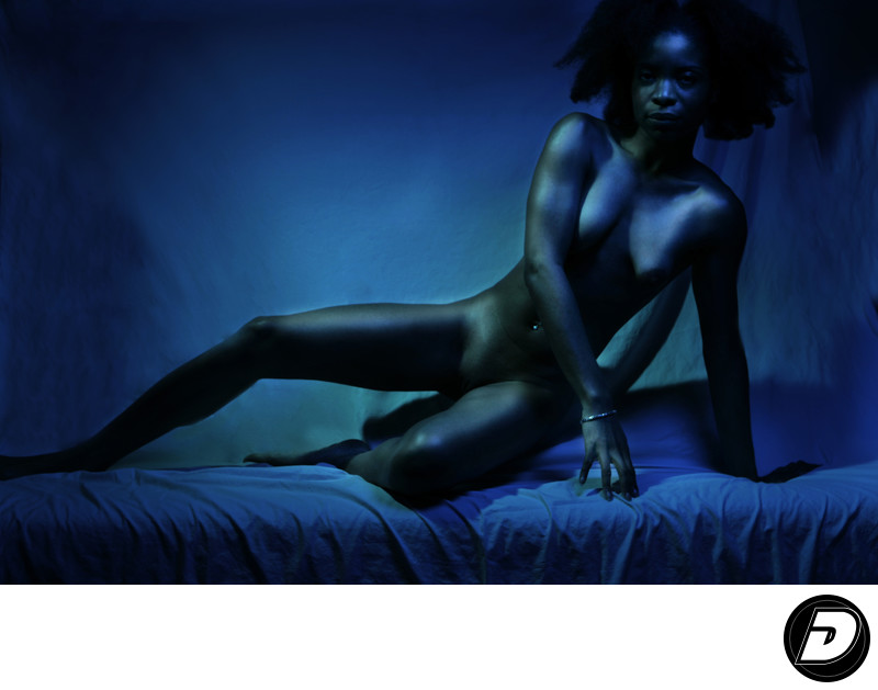 The nude dark body Photo