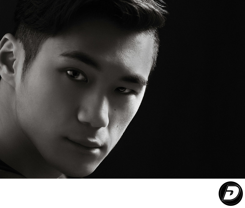 Young Asian Male Portrait Photographer