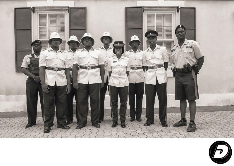 Royal Bahamas Police Force Black & White Photographer
