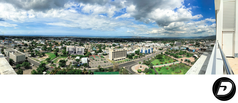 Wide Angle View Jamaica