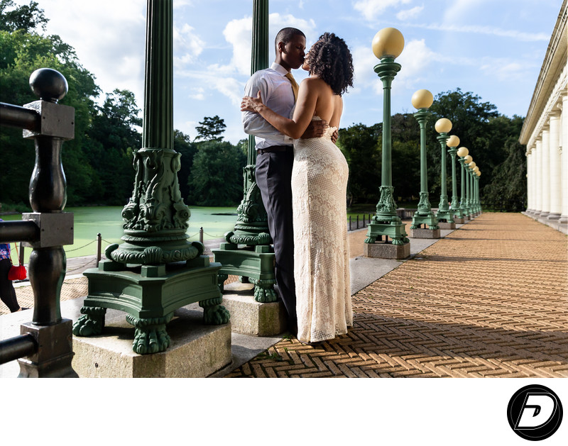 Prospect Park Boat House Engagement Photographer