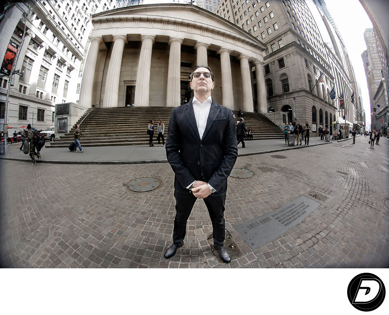 Wall Street Businessman Photographer