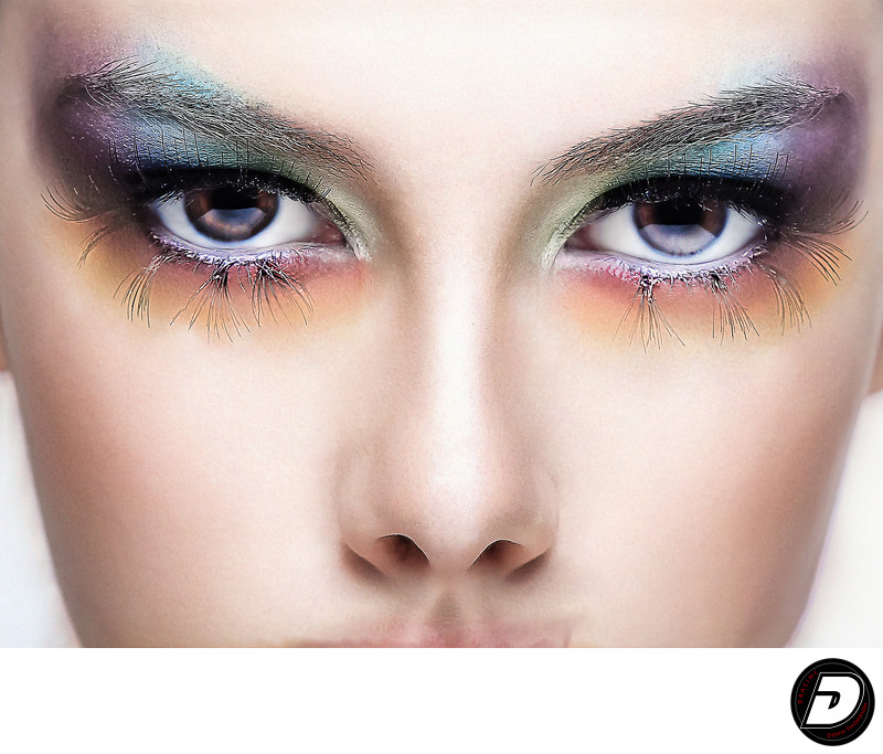 New York Beauty Photographer- Colorful Eyes