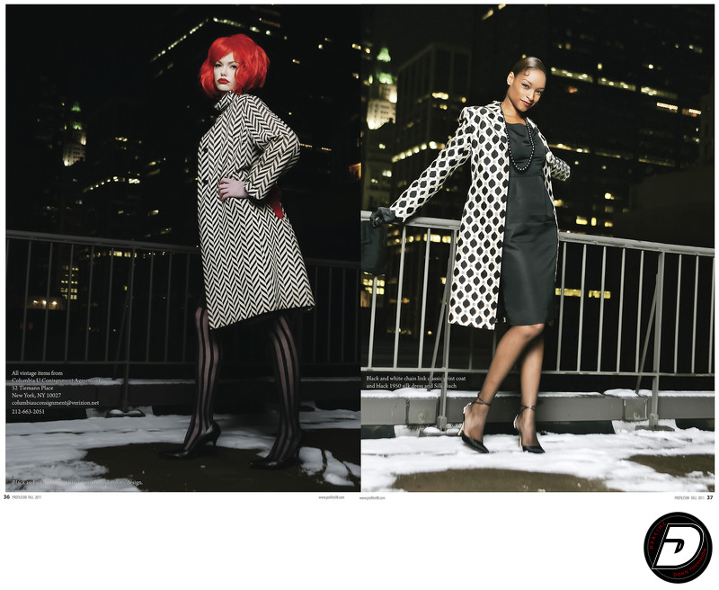 Profiles98 Magazine Vintage Coats Luxe Photographer