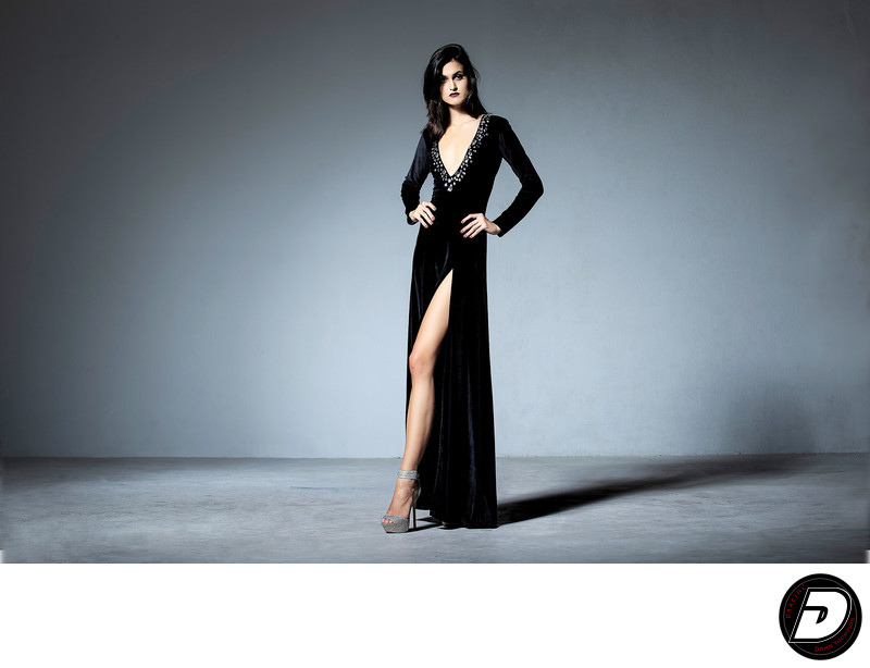 New York Photographer Charu Lochan Dass Black Dress