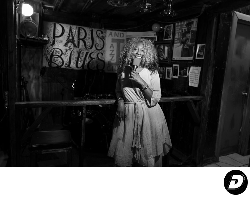 Paris Blues Diva New York Photographer.