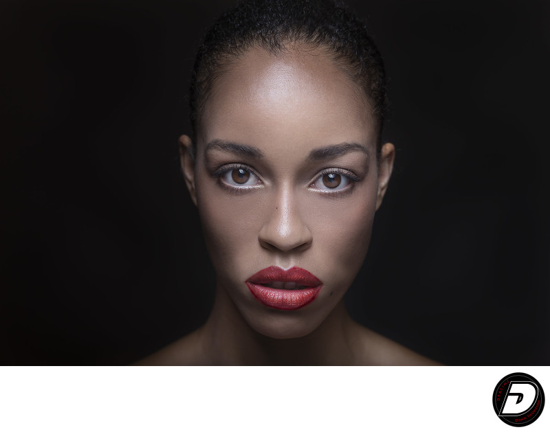 Red Lips Beauty Photographer Donn Thompson
