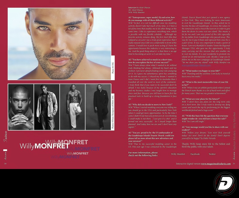 DJ Willy Monfret Alize La Vie magazine