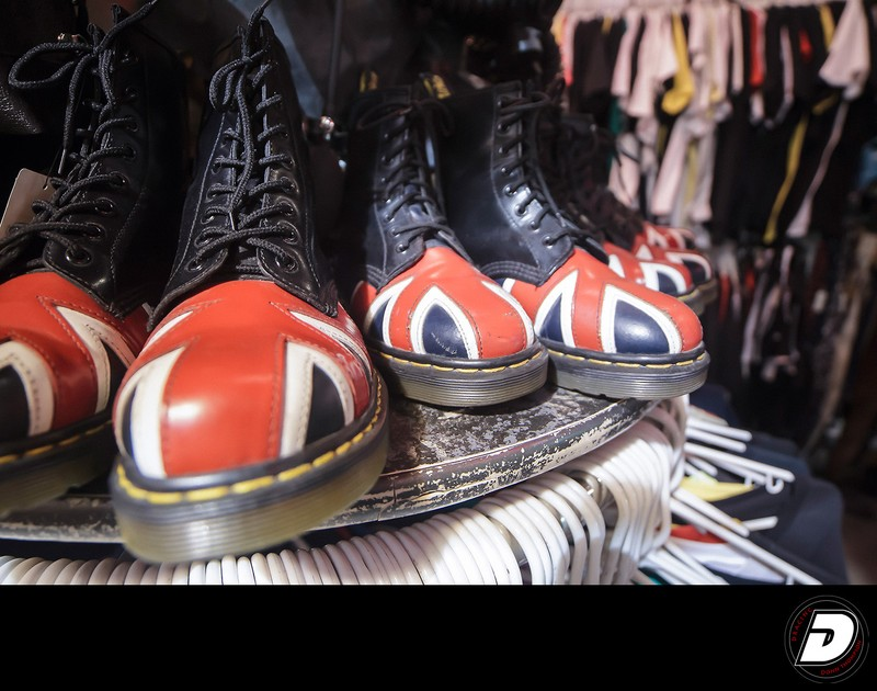 Doc Martins Union Jack Photo