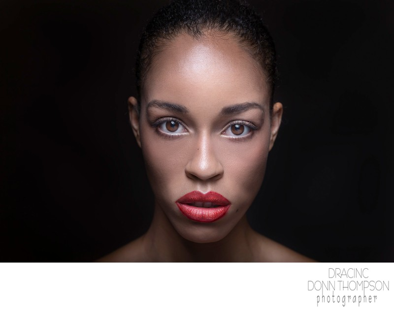 Advertising NYC Harlem Photographer Red Lips Beauty