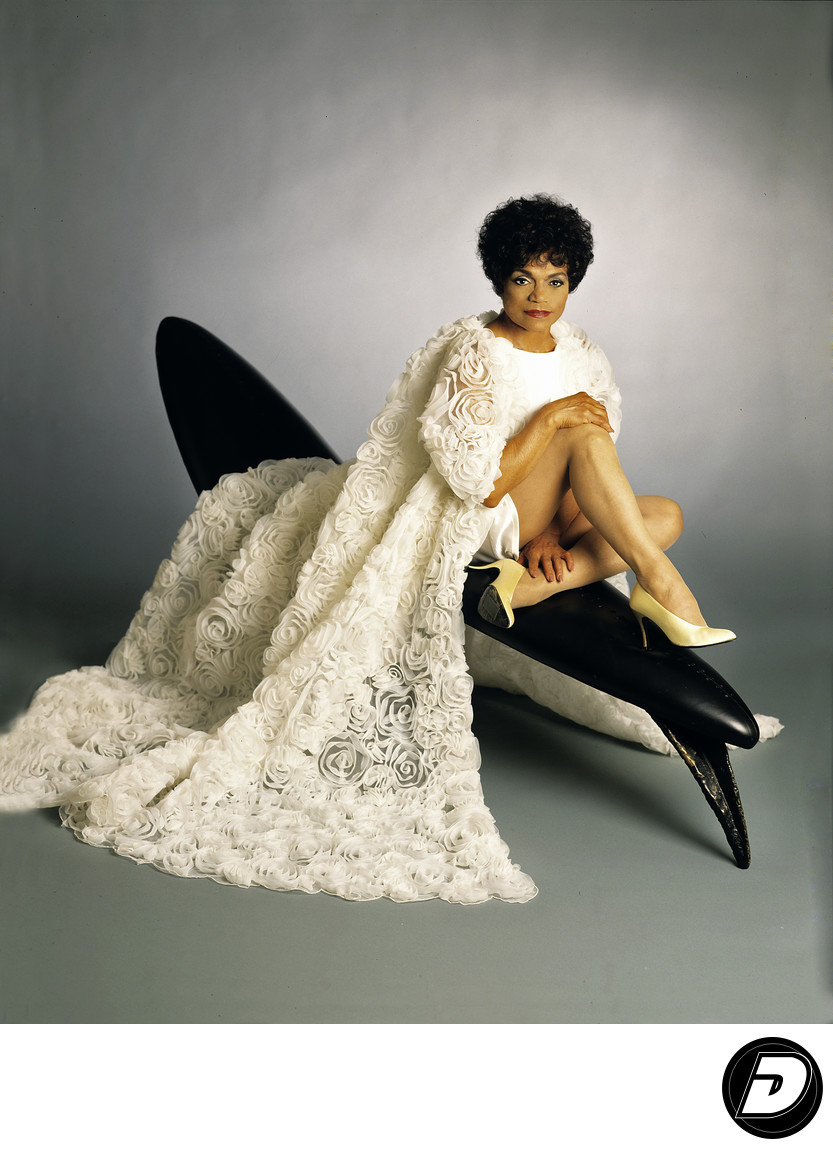 Eartha Kitt Magazine Cover Isaac MizrahiPhotographer