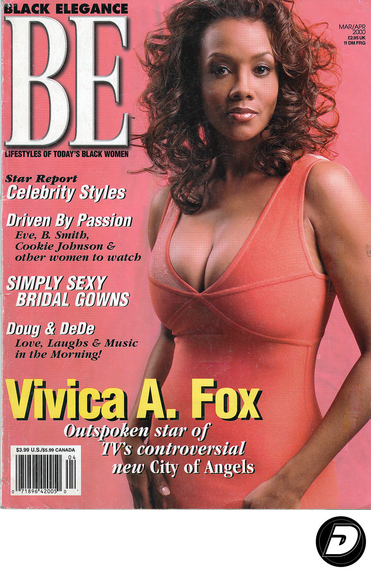 BE Black Elegance Vivica A Fox Cover Photographer