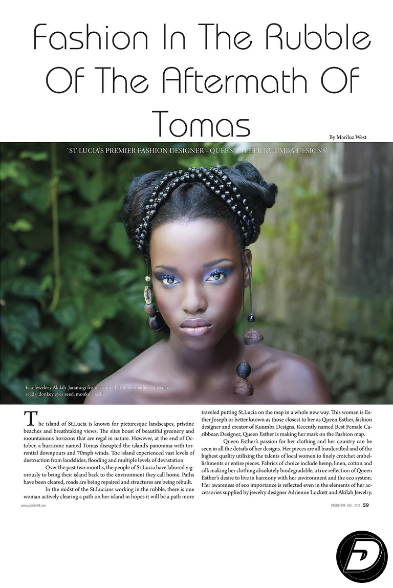 Profiles98 Magazine St Lucia Fashion Photographer