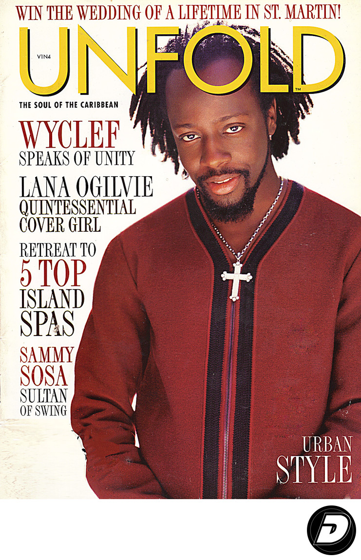 Wyclef Unfold Magazine Cover Photographer