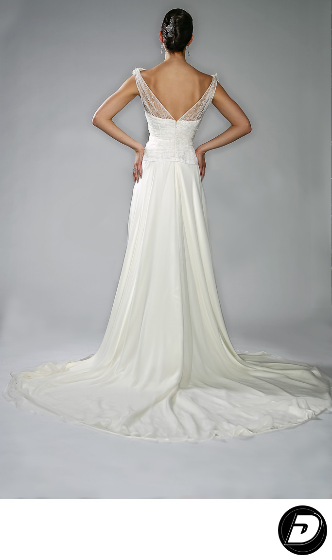 Designer Gilles Montezin Wedding Dress