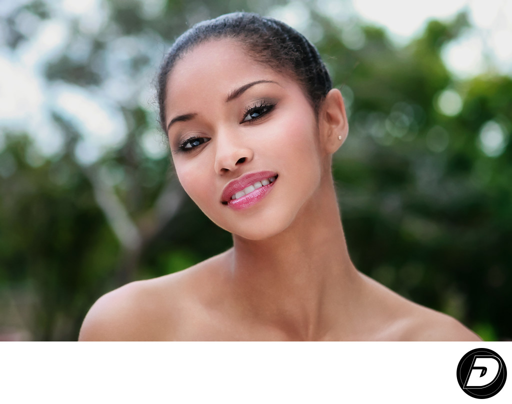 Nassau Models Bahamian Girl Eyes Beauty Photographer