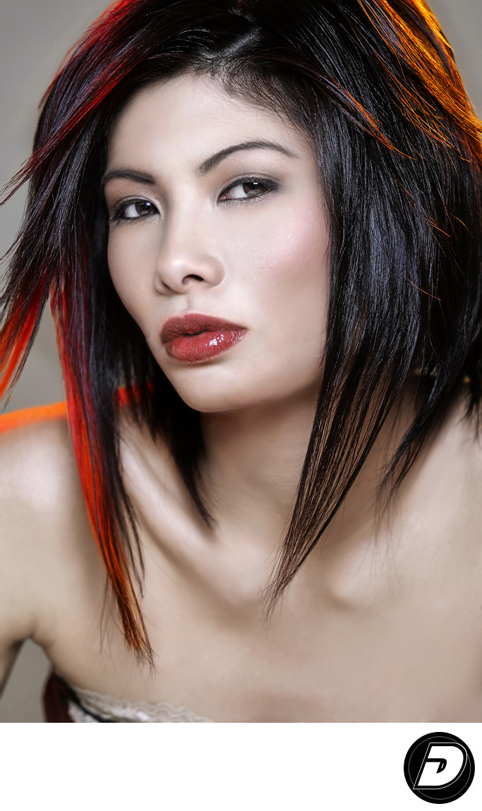 Asian Woman Face Photo