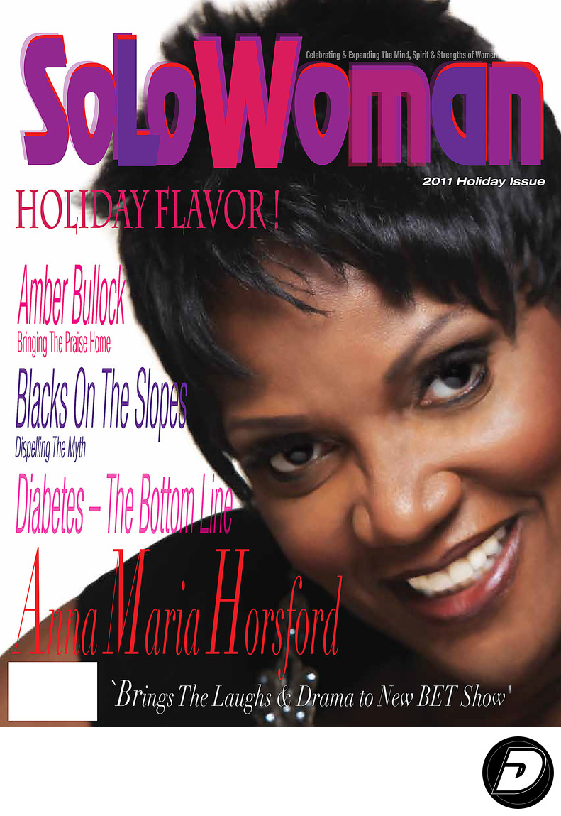 Solowoman Anna Maria Horsford Cover Photographer