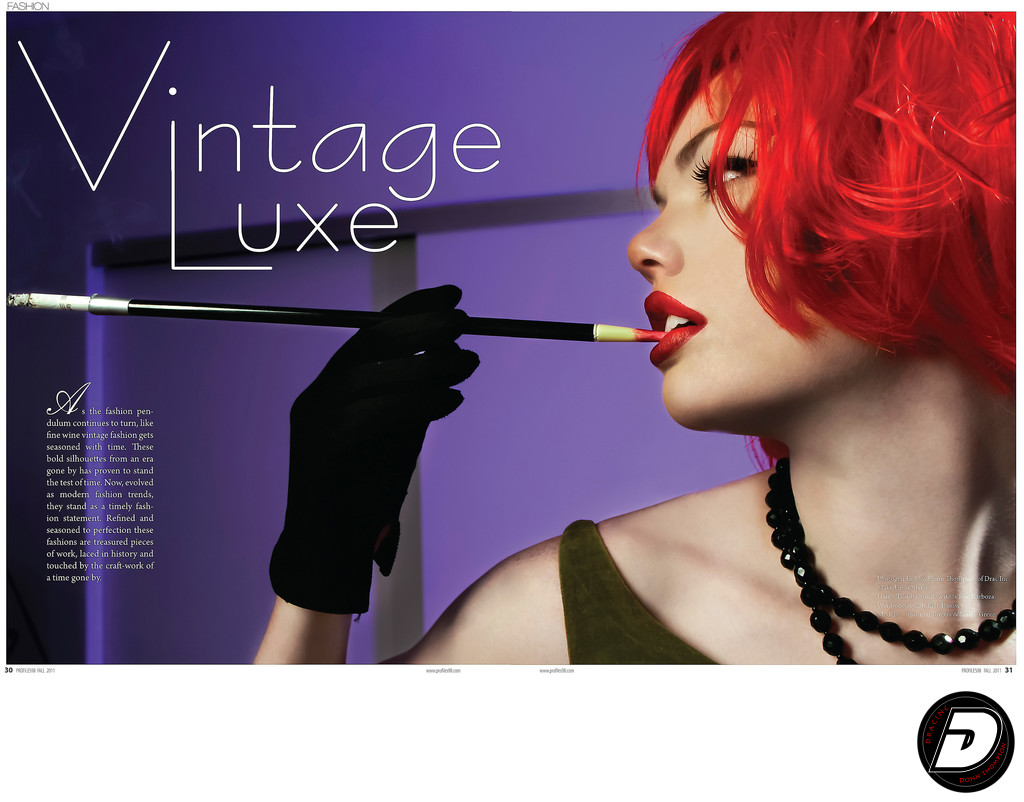 Profiles98 Magazine Vintage Luxe Photographer