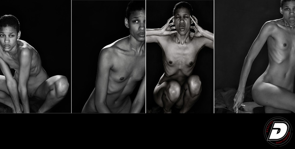 Painful Nudes Black & white Photographer