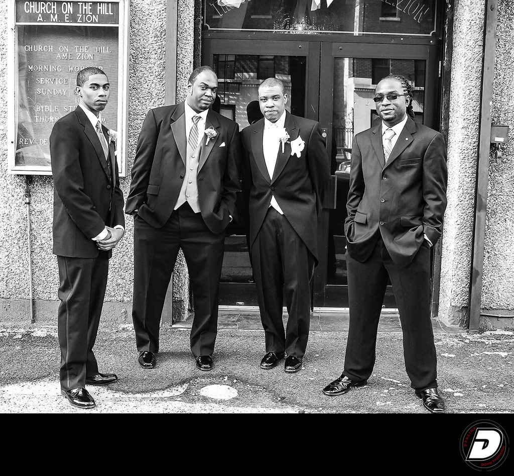 The Hill A.M.E Zion Grooms Men Wedding