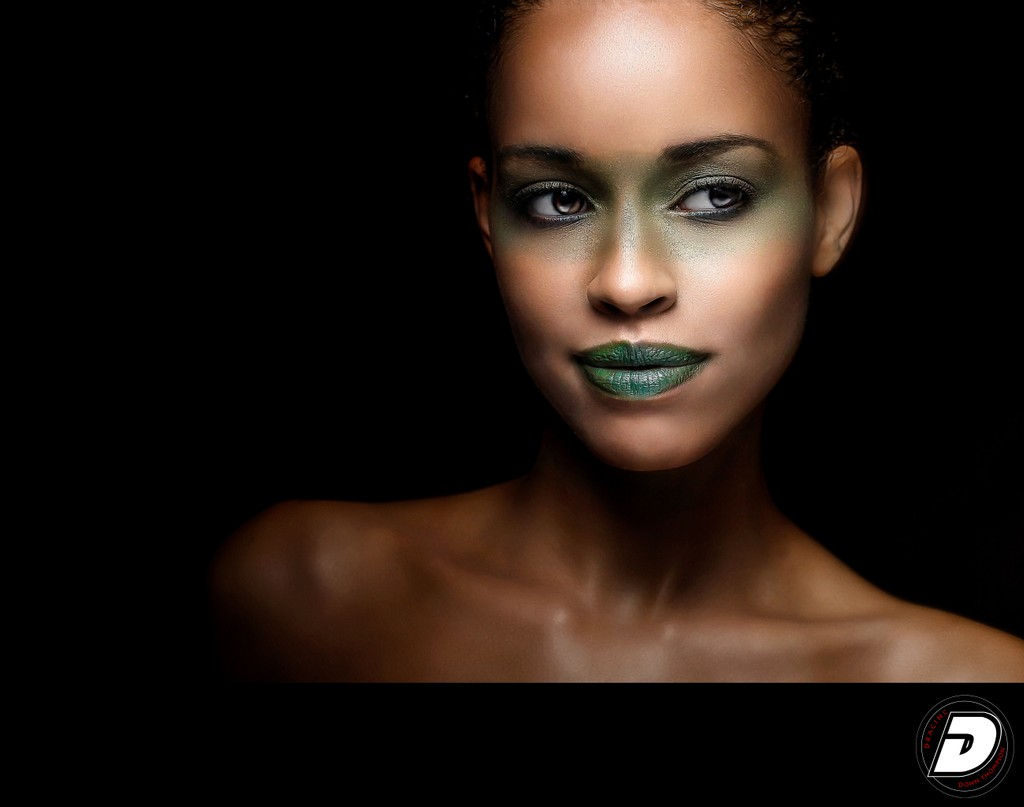 Green Eye Make up Beauty Photographer Donn Thompson