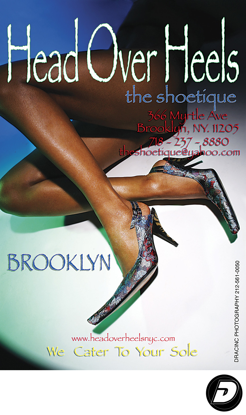 Head over Heel Shoe Brooklyn fashion photographer