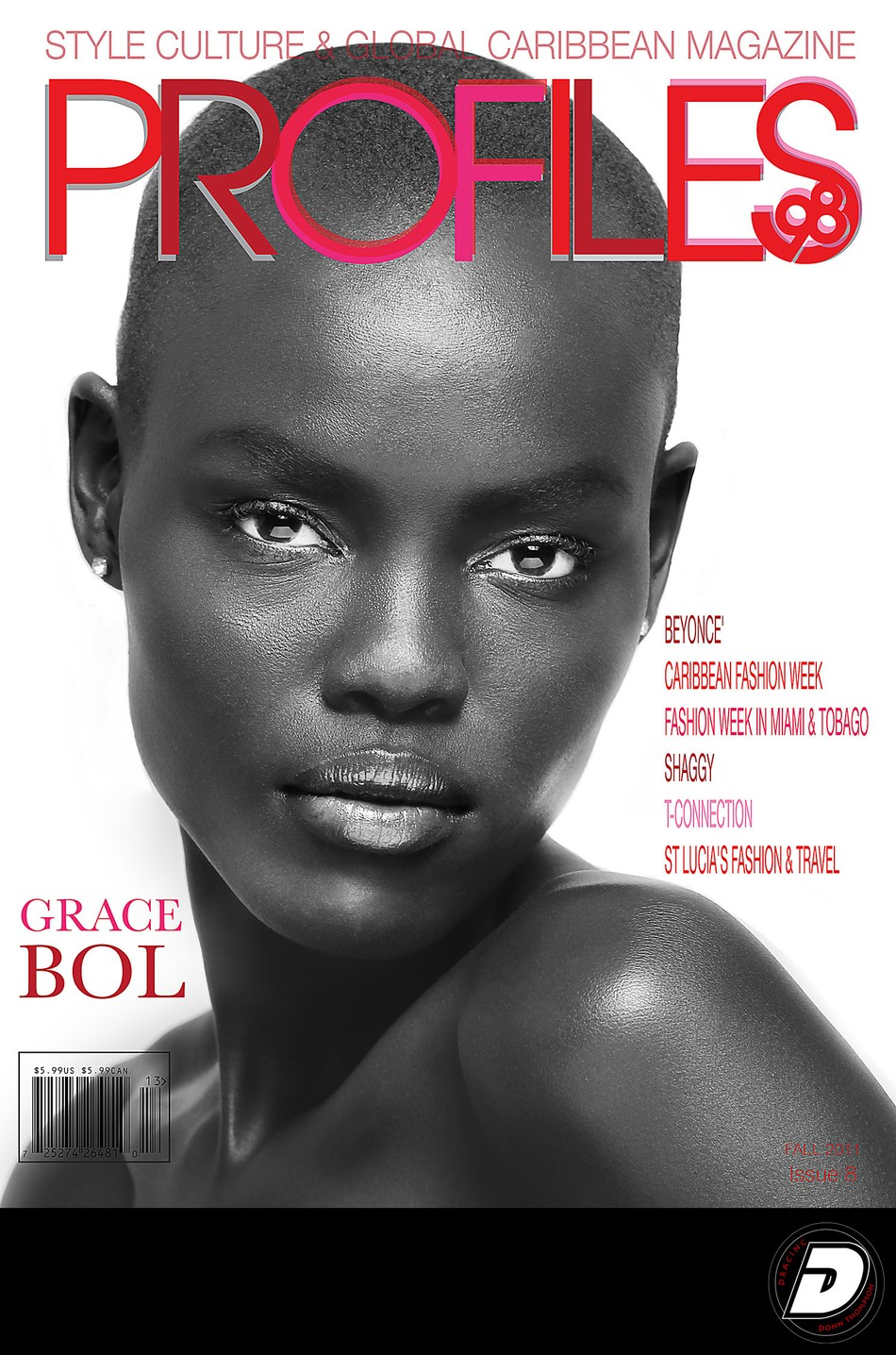 Commercial Advertising Photo Grace Bol Profiles98 Cover #8