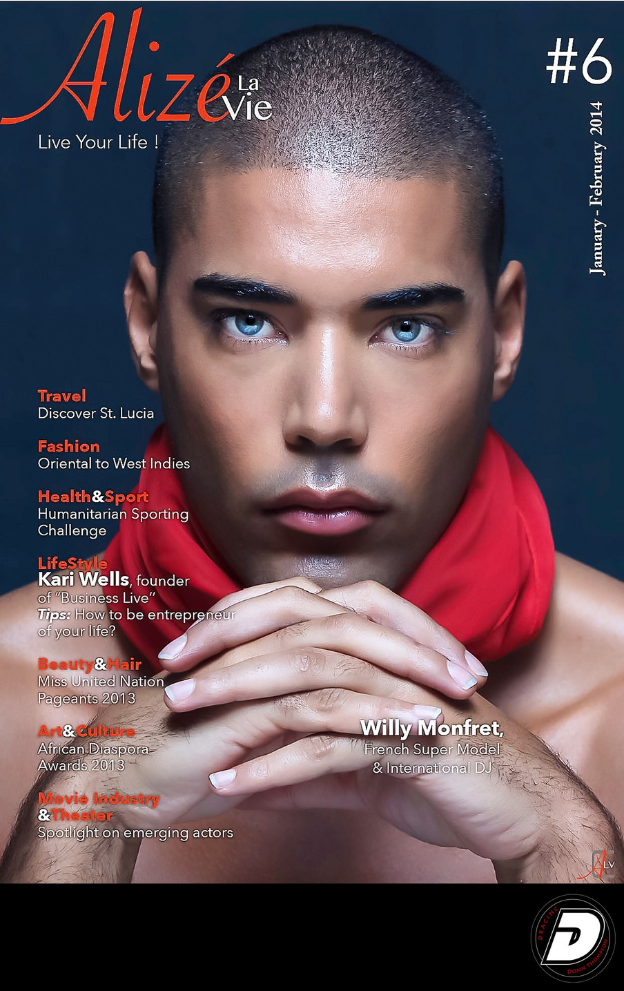 Alize LaVie Jan/ Feb 2014 Cover