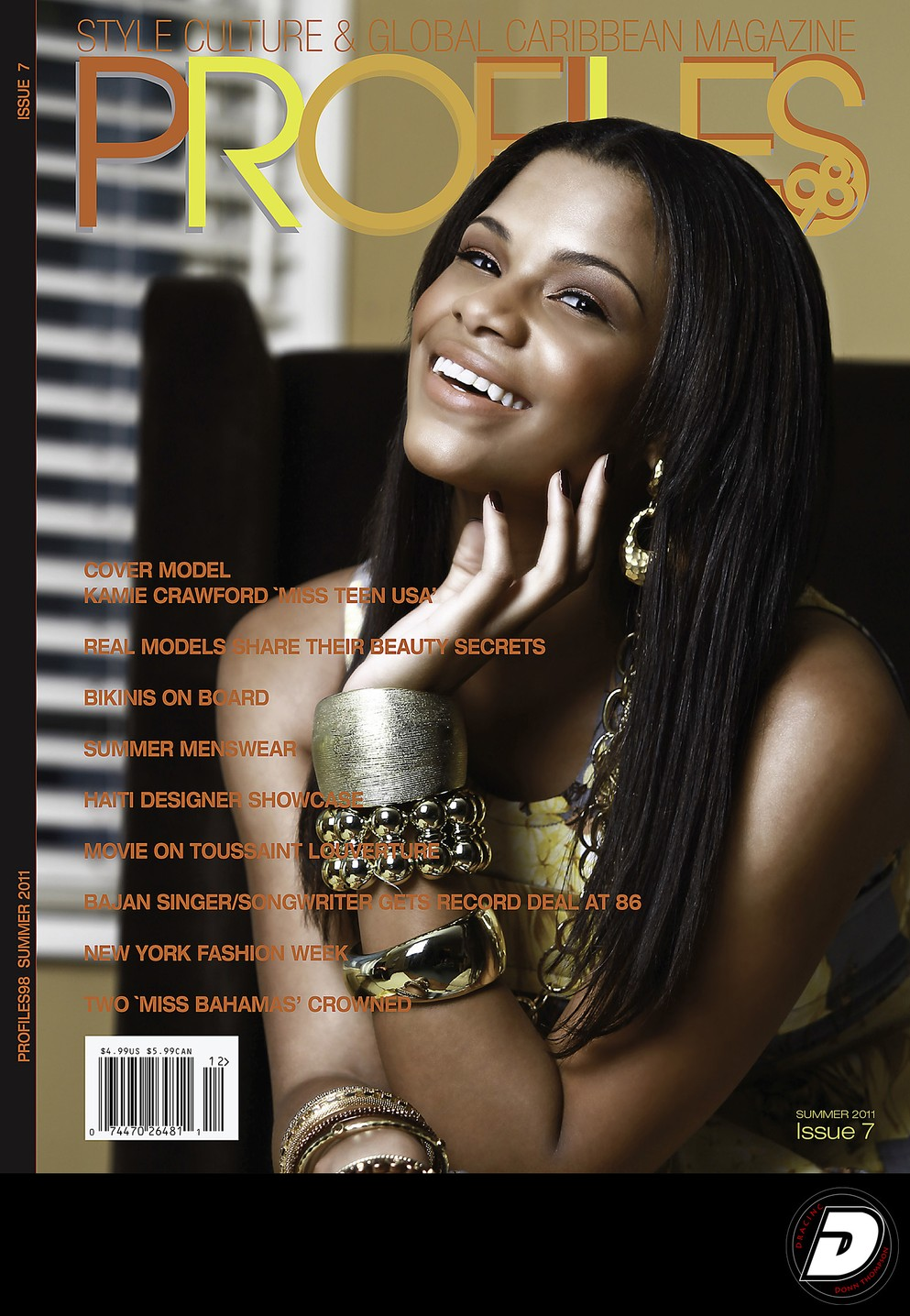 Profiles98 Magazine Issue #7 Summer 2011 Cover