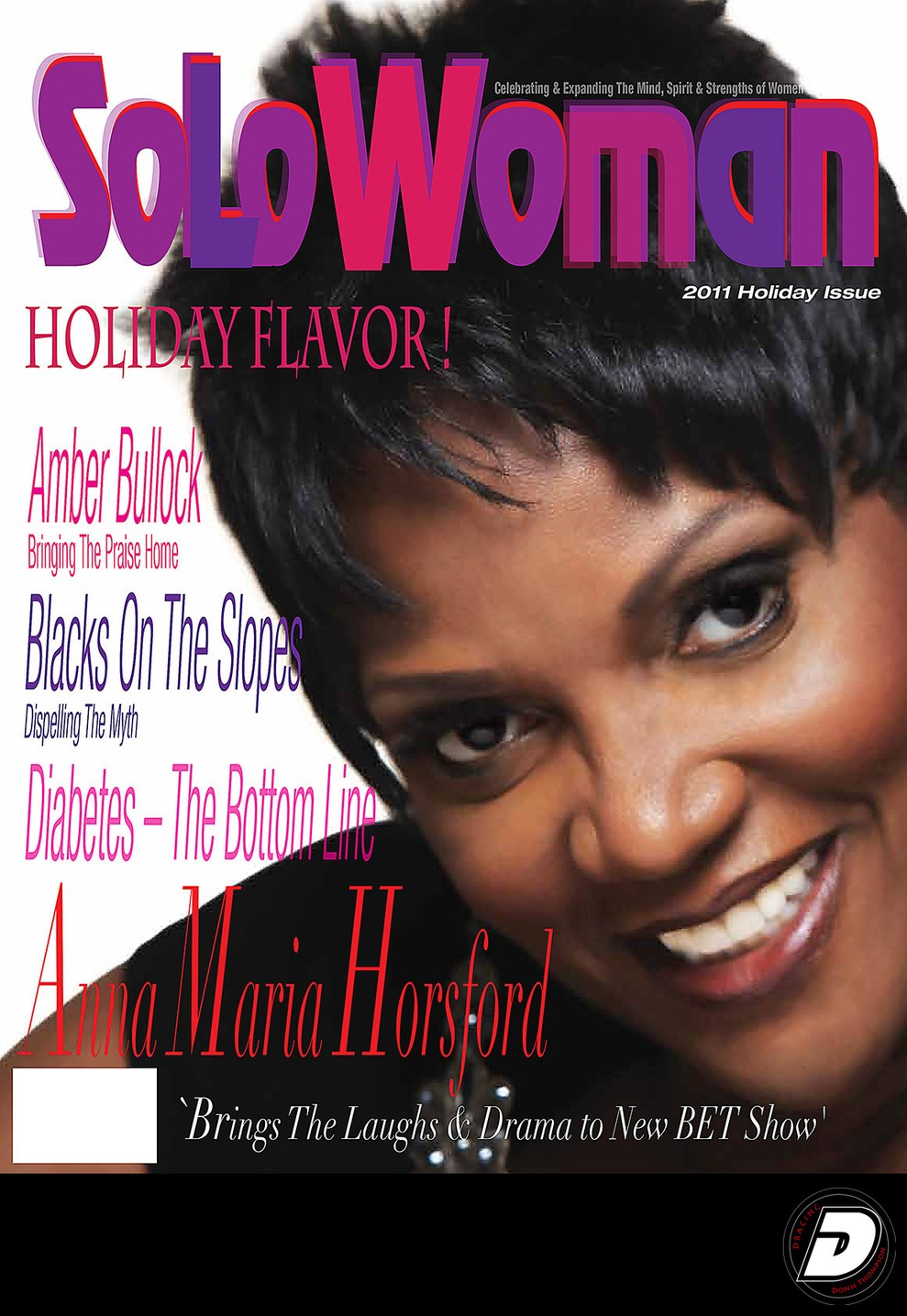 Solo Woman Anna Maria Horsford Cover