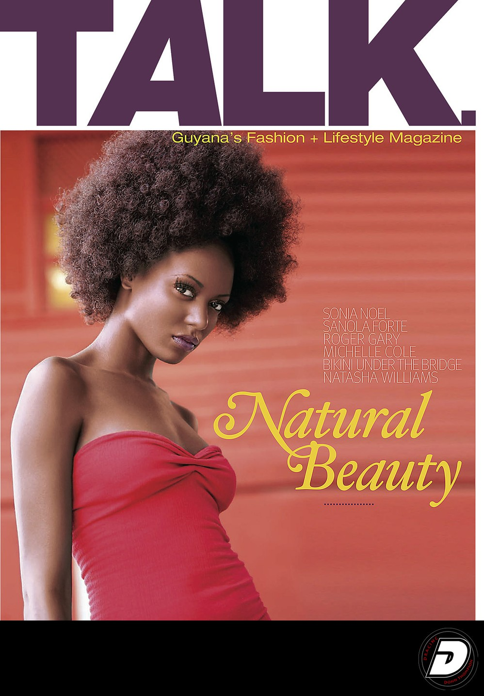 Talk Magazine Cover Guyana