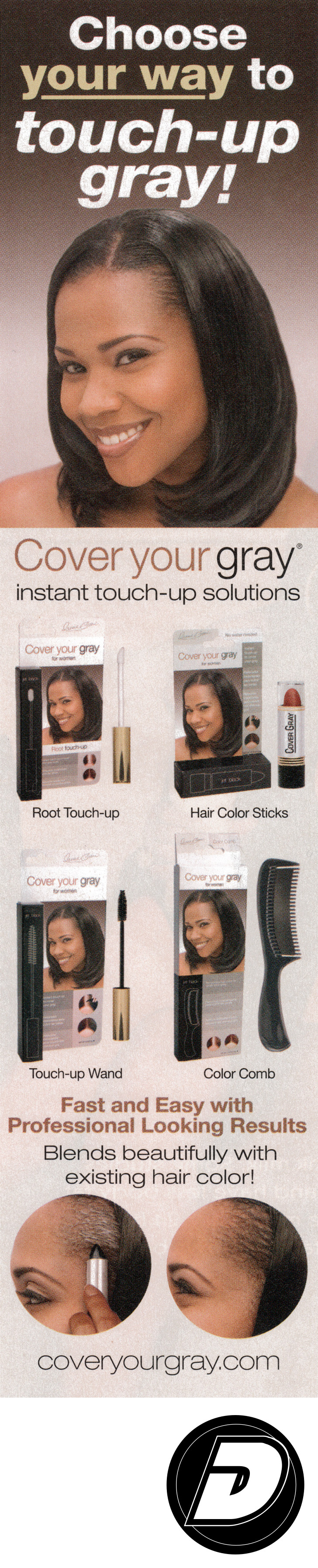 Touch UP Your Gray Advertising Photographer