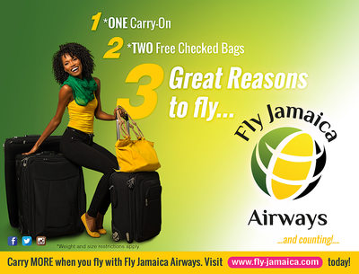 Fly Jamaica Airways Ad Photo