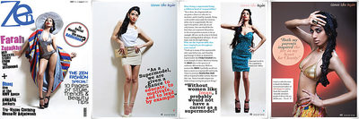 Zen Mag Aug 2012 Cover & Editorial Photographer