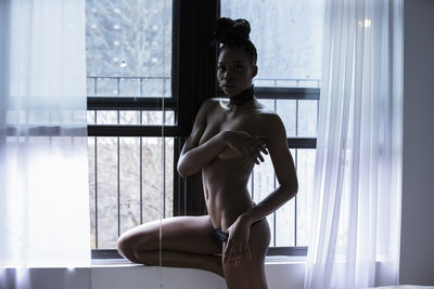 Harlem Semi Nude Colour Window Light photography