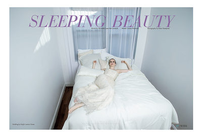 World Bride Magazine Sleeping Beauty
