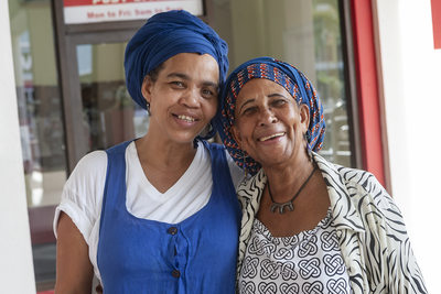 Saint Lucia Two Woman Portrait Photography