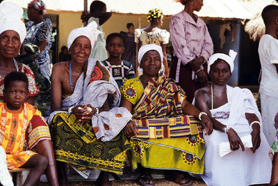 Travel Photographer Dodowa Ghana Village Women Portrait