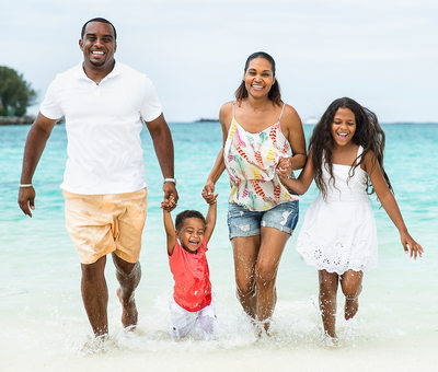Bahamas Lifestyle Photographer Vacationing Family