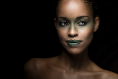 Green Beauty Makeup Photographer