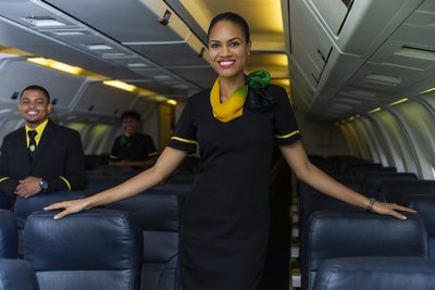 Fly Jamaica Flight Attendant