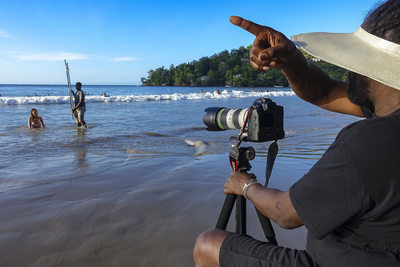 Maracas Bay Location photographer