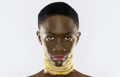 South-Sudan Golden Neck Beauty Photographer