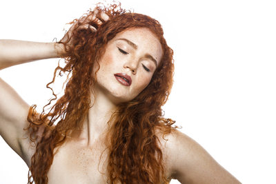 New York Beauty Photographer Red Head Photo
