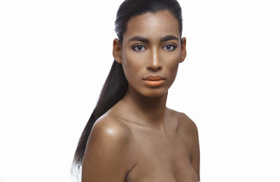 Orange Lips Beauty New York Photographer