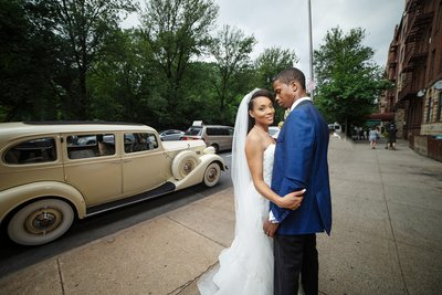 Ocean Avenue Brooklyn Wedding Photo