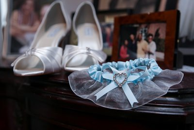 Something Blue Swam Club Wedding
