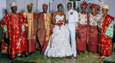 Brooklyn Marriott African Wedding